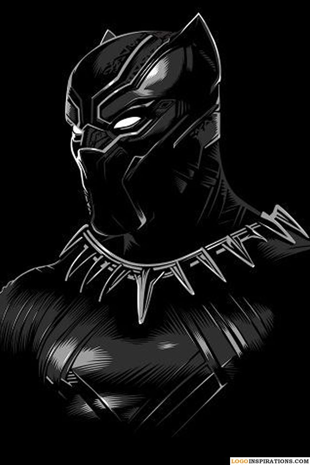Black Panther Wallpaper With Blue Eyes Wallpaper Iphone Black