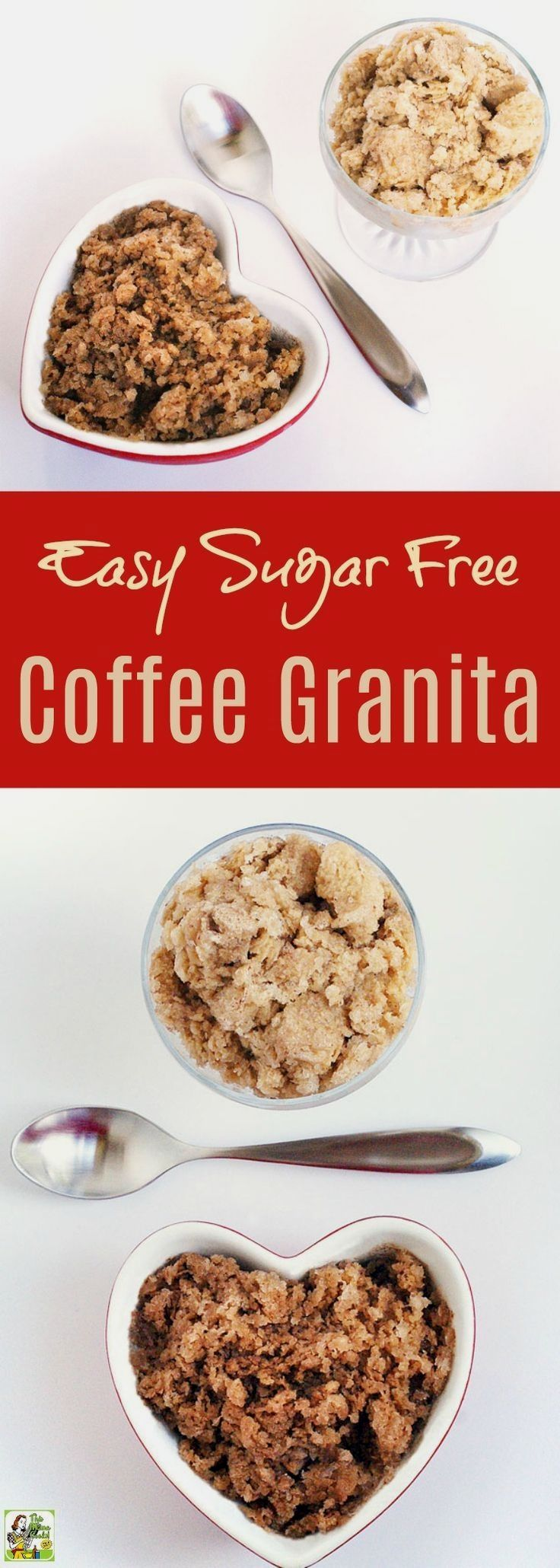 Learn how to make an  Learn how to make an Easy Sugar Free Coffee Granita recipe. Click to try this homemade coffee granita frozen dessert recipe that's sugar-free, dairy free, and flavored with chocolate or cinnamon. Low in calories, is a guilt free substitute for coffee ice