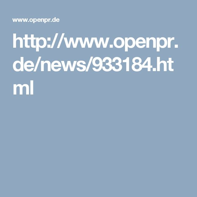 http://www.openpr.de/news/933184.html
