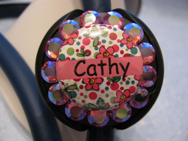 Stethoscope ID Tag, Stethoscope Name Tag, Stethoscope Tag, Crystal Stethoscope Name Tag,Name Tag, Name Badge,Flowers with Swarovski Elements by sparklinghope on Etsy https://www.etsy.com/listing/513841618/stethoscope-id-tag-stethoscope-name-tag