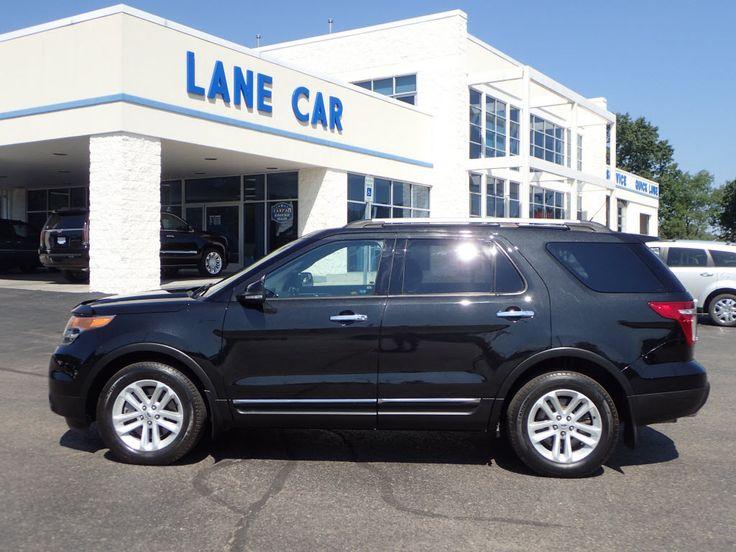 2014 Ford Explorer XLT #LaneCarCo #SUV #OrtonvilleMI