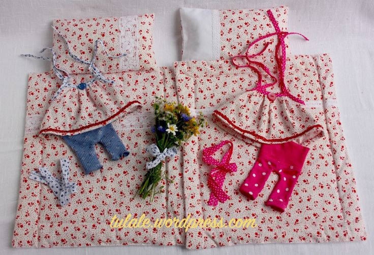 Linen and pajamas Lili and Rose by #Tulale