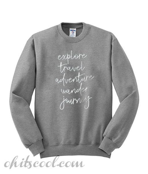 c87d5092c48f Adventure Sweatshirt from Ohitscool. Adventure Sweatshirt from Ohitscool Comfortable  Outfits ...