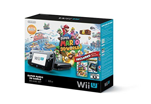It's an entirely new system that will change the way you experience entertainment. For the first time, experience your favorite Nintendo worlds in crystal clear high definition. The New Wii U GamePad controller removes the traditional barriers between you, your games, and your TV by creating a second window into the video game world. It incorporates a 6.2-inch, 16:9 aspect ratio LCD touch screen, as well as traditional button controls and two analog sticks. Plus, in this bundle, you'll get…