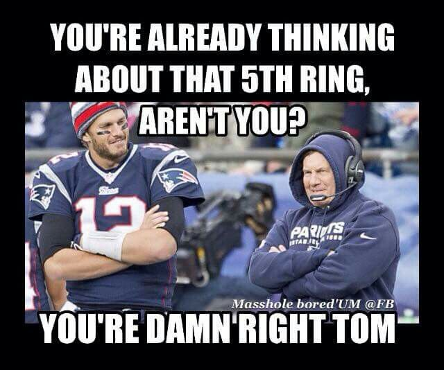 5th ring at 50th Super Bowl - like to dream big!