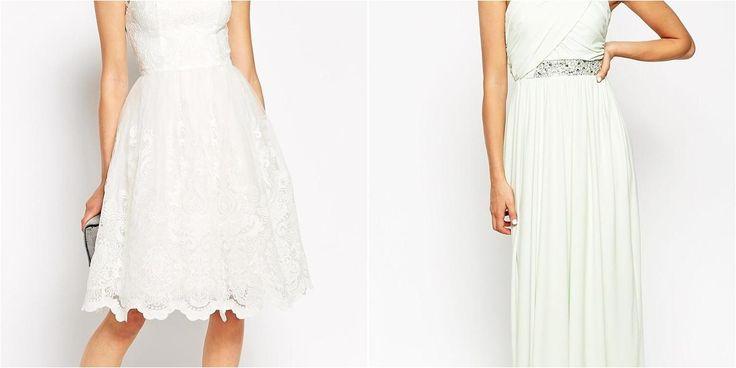 Vestidos de novia económicos y sencillos