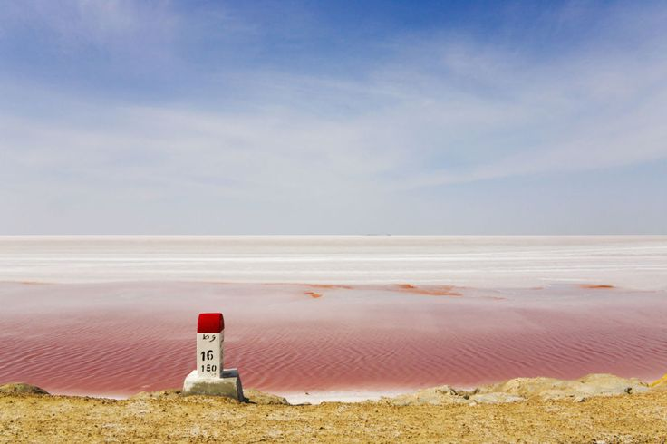 Red Salt Lake, Tunisia