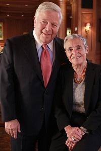 Fantastic Article about Myra and Robert Kraft