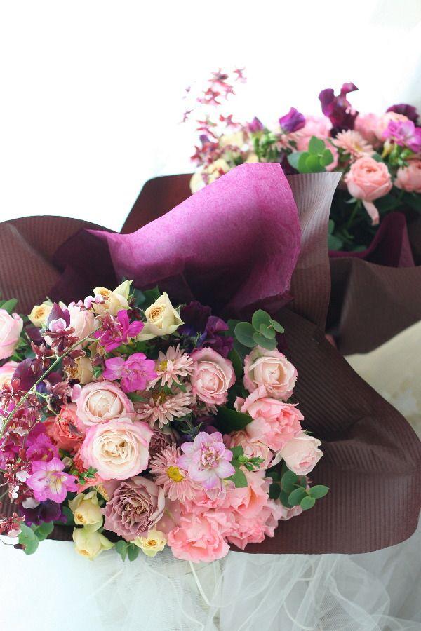 御両親への贈呈用の花 : 一会 ウエディングの花