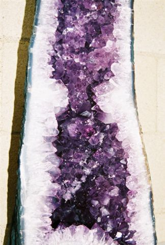 Amethyst (quartz crystal) can be found in many regions around the world. Amethyst crystal is found in Mexico, Brazil, Canada, Uruguay, Africa, Europe and the United States.    Quartz is the most common mineral on earth. Amethyst is the most valuable form of quartz. Amethyst is found globally and is easily available. For this reason, amethyst prices are affordable. The quality of amethyst differs by its locality. The formation of amethyst geodes occur in igneous and metamorphic rocks.