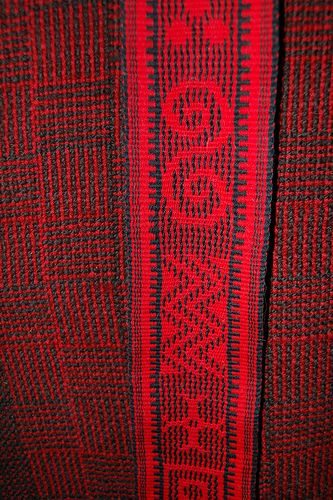 Beautiful patterns from PurpleFuzzyMittens on Flickr. #inkle weaving