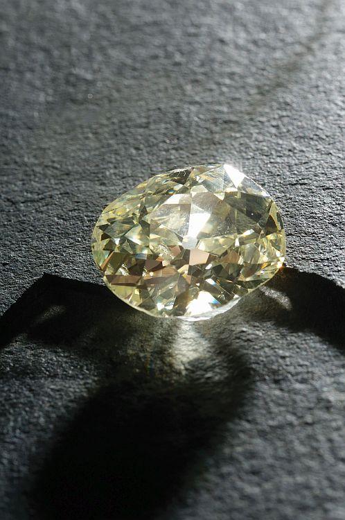 554089dcae2 The Eureka diamond.   Colored Diamonds in 2019   Diamond jewelry ...