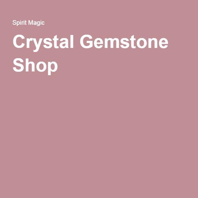 Crystal Gemstone Shop