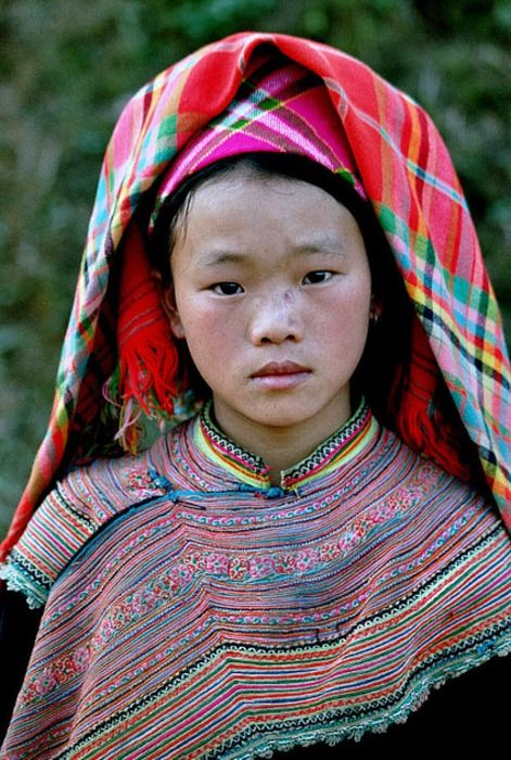 Connections: Hill Tribe Young Woman #ExpediaWanderlust