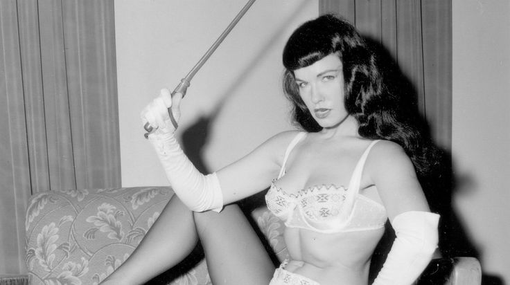 Bettie Page Reveals All digs deep into the storied life of the 1950s model, seen here in one of the many photos featured in the documentary....