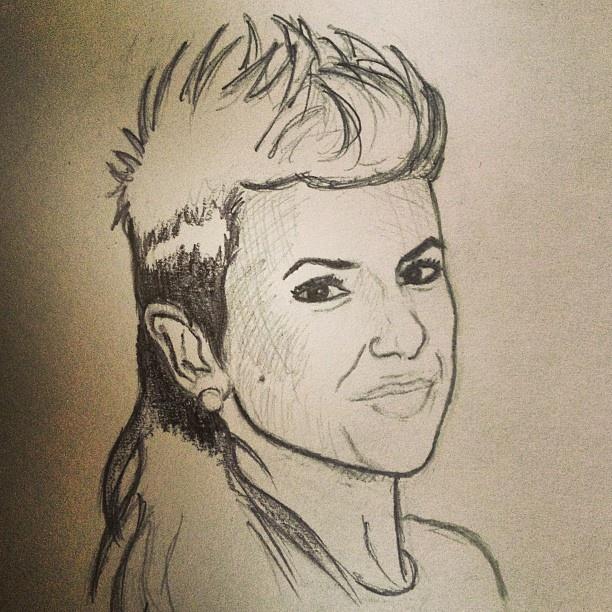 Sabrina Antoinette Drawing of Sabrina Ant...