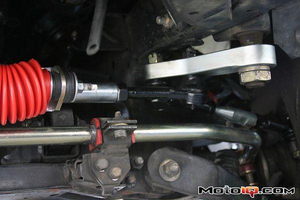 Pitman Arm installed on Nissan Pathfinder