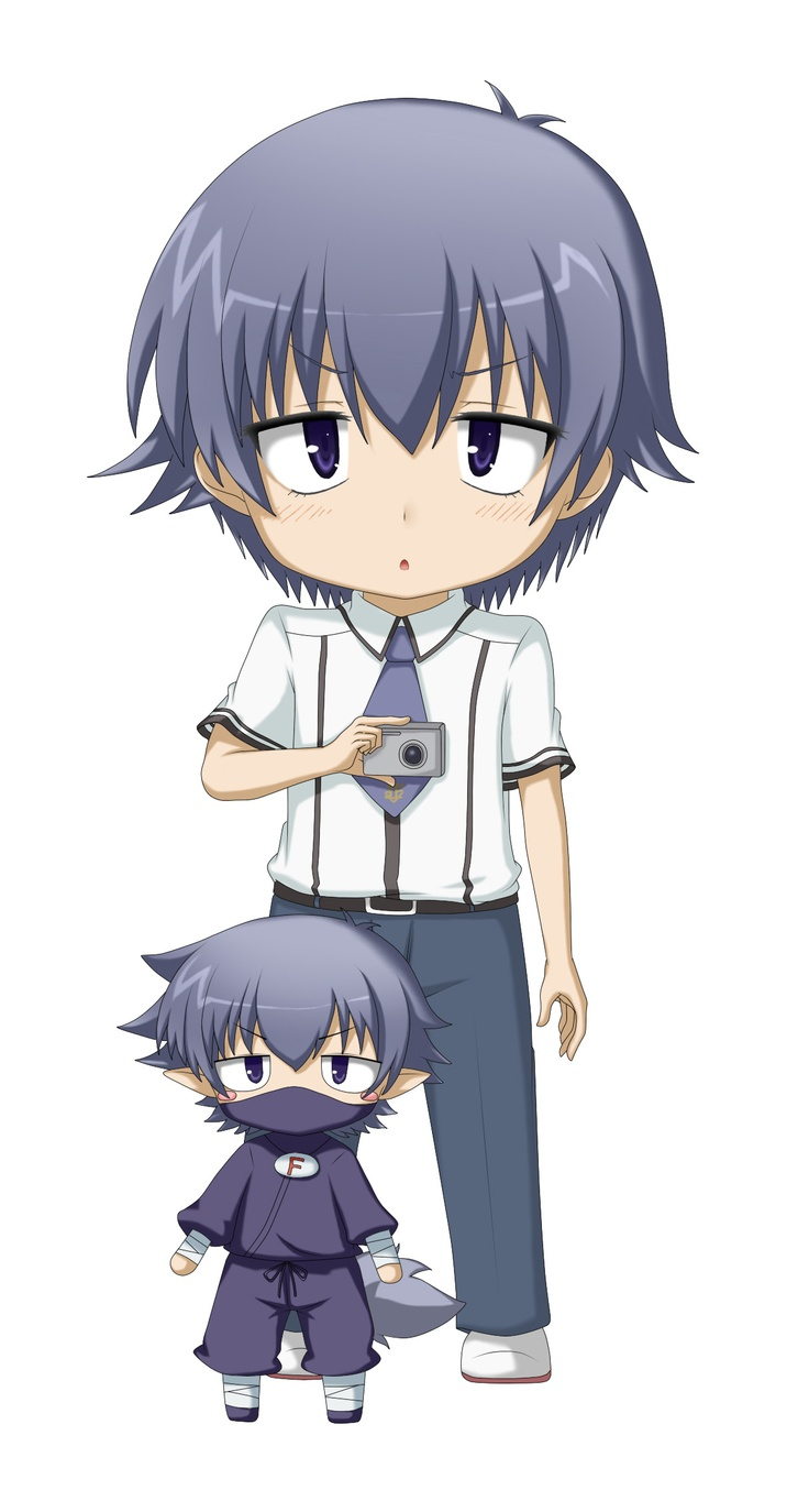 Kouta Tsuchiya from Baka And Test! FYI: The pervert of the show ;) Watch yourself around him!~ ;)
