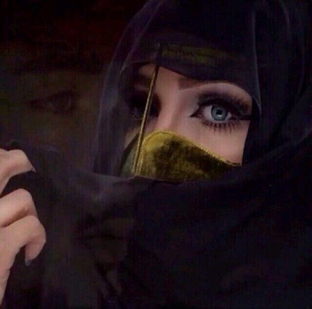 Mego صور بنات مبرقعة برقع عيون رمزيات تمبلر واتساب نقاب Arab Beauty Cute Girl Face Beautiful Eyes