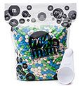 Buy personalized chocolate M's® candy in bulk to create your own unique party favors or use for other party ideas.