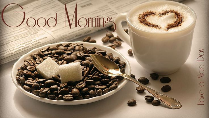 good morning! coffee?