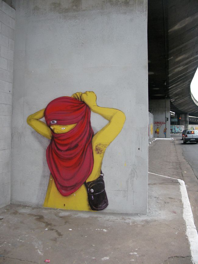 Os Gémeos, Sao Paulo - unurth | street art