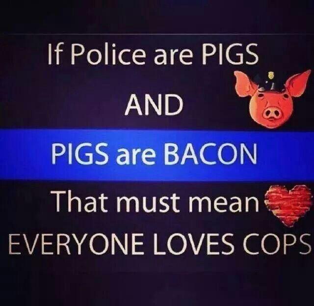 Everyone loves bacon!  Law Enforcement Today www.lawenforcementtoday.com