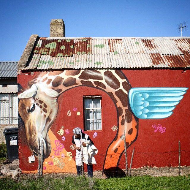 Falko one in South Africa #streetart
