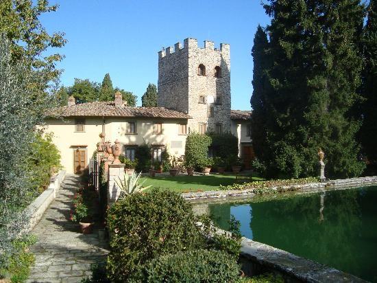 Castello di Verrazzano - located between Firenze and Siena...