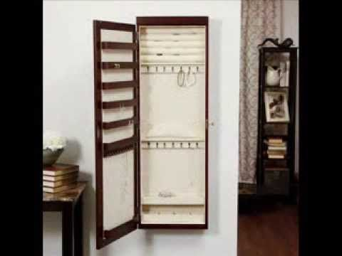 lighted wall mount jewelry armoire cherry jewelry armoires at jewelry armoire lisa i really like the lighted ones