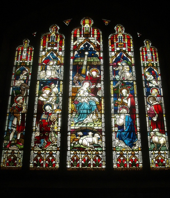 Clayton & Bell Window, Eccleshall