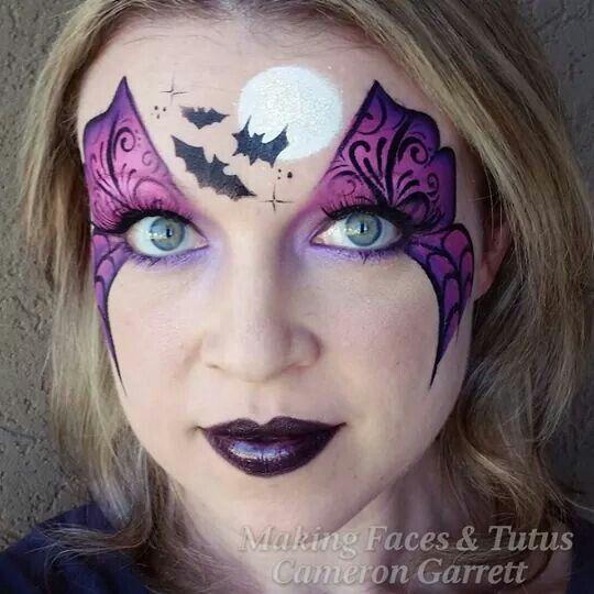 Spooky and pretty.