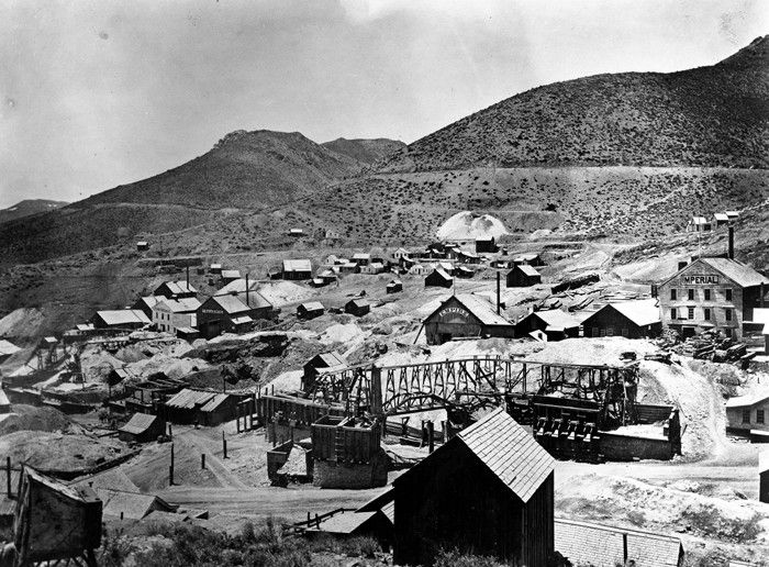 2. The Comstock Lode, America's largest silver deposit, was founded in Nevada in 1859.