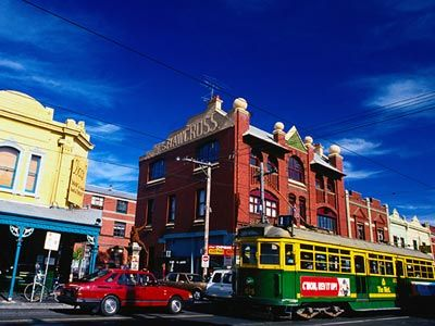 Brunswick Street, Fitzroy, Melbourne - Australia