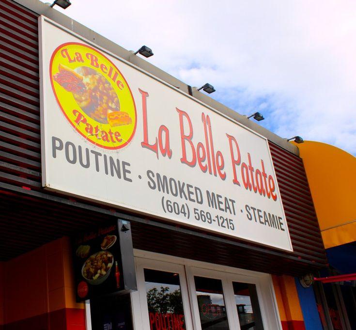 Poutine at La Belle Patate in Vancouver, British Columbia, Canada via ZaagiTravel.com