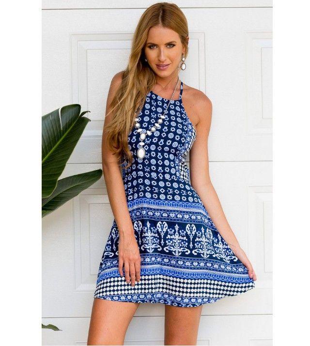 Breezy Halter Dresses