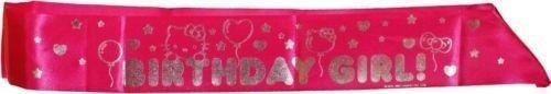 cool Hello Kitty Birthday Sash (1ct)