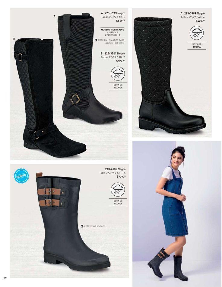 Botas de la amrca Andrea para mujer, catalogo de verano. #BotasAndrea #CatalogoAndrea