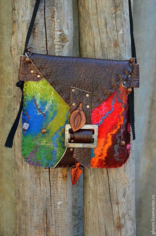 Женские сумки ручной работы. Сумка-карман