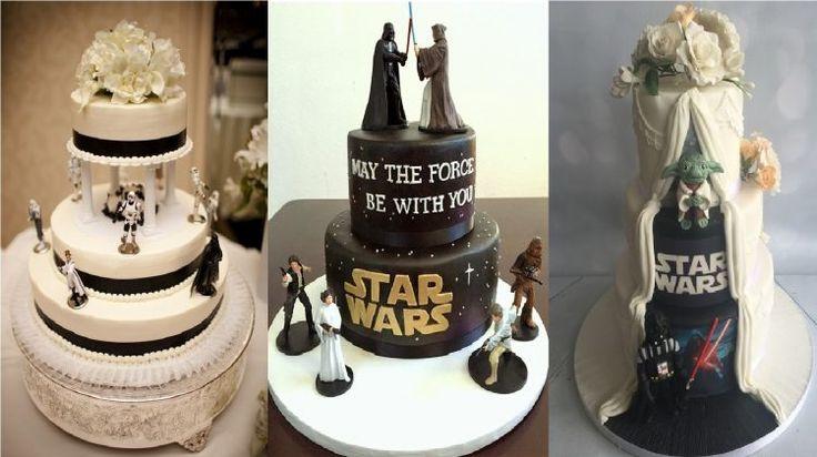 Inspirasi Kue Pengantin Bertema Star Wars yang Menarik Perhatian