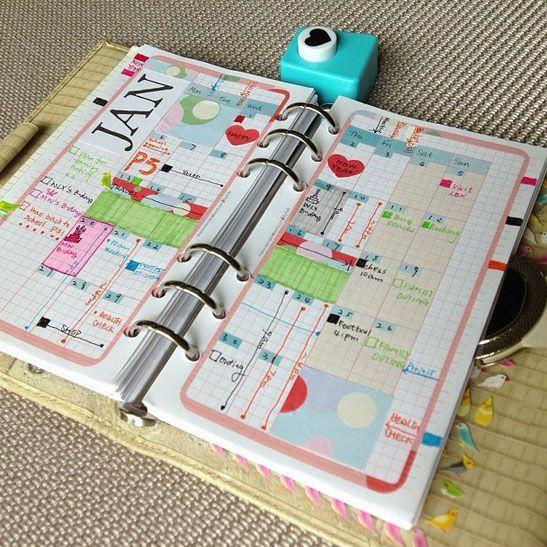 Art Journal Calendar Pages : Best images about art journal calendar pages on