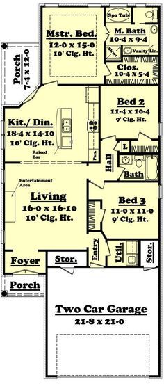 Lefleur House Plan