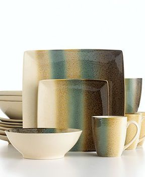 Sango Dinnerware, Nouveau Teal 16 Piece Set on shopstyle.com