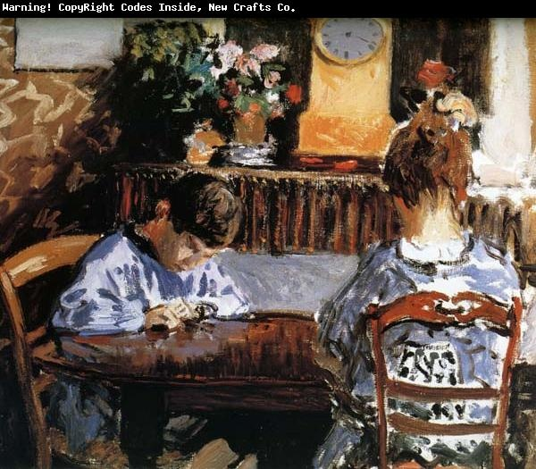 The lesson Alfred Sisley