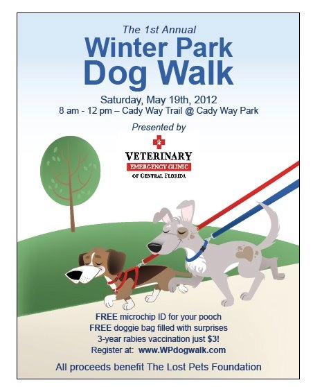 Winter Park Dog Walk is Saturday, 05/19.  Go to http://www.WPdogwalk.com to register.: Dogs Walks, Parks Dogs, Canin Connection, Orlando Canin, Winter Parks