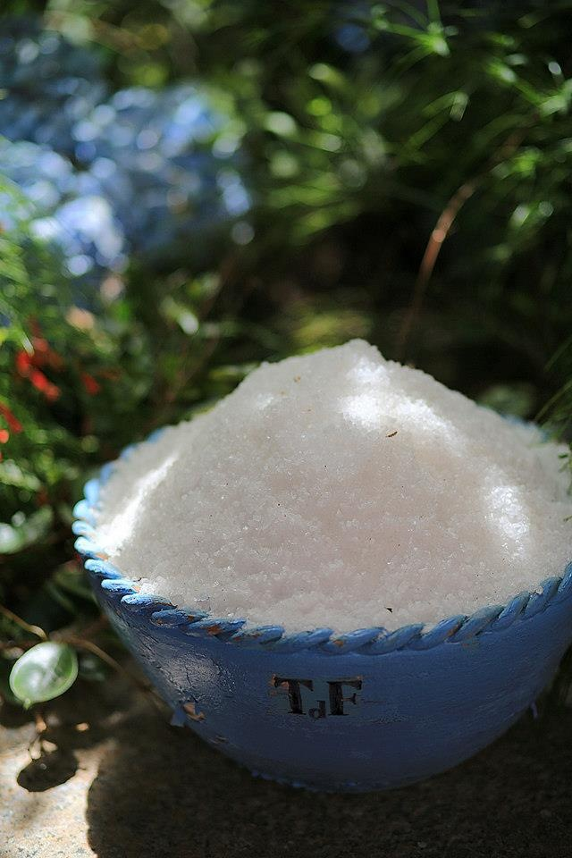 Salt of our #Thalassotherapy #Spa #Forte_Village #FVexperience