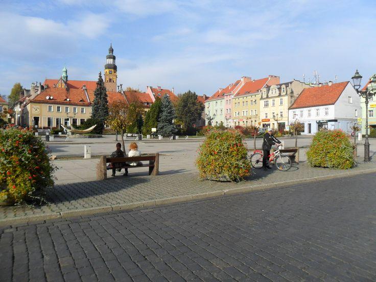 Wodzisław Śląski - Rynek  Wodzisław Silesian -  Market, Poland
