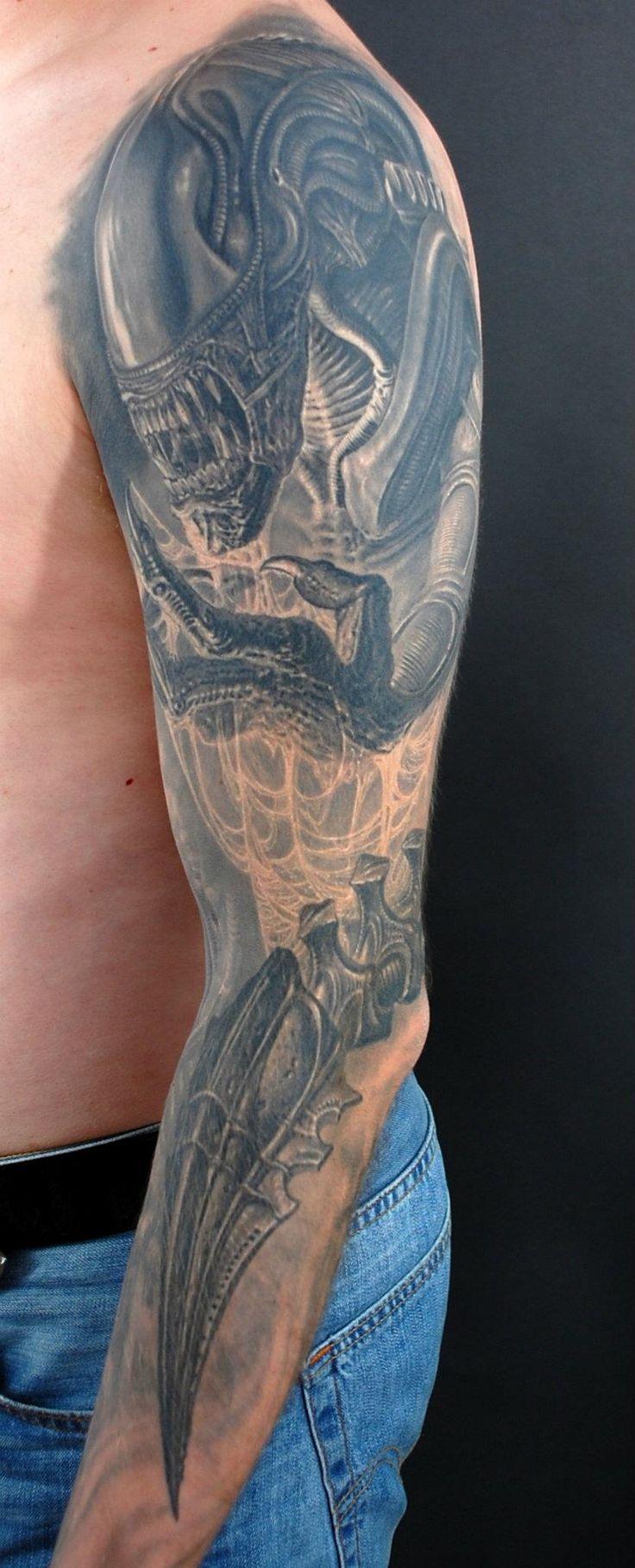 Pavel Angel: Tattoo Stuff, Tattoo Sleeve, Pavel Angel, Awesome Aliens, Tattoo Artists, Tattoo Ink, Aliens Tatt