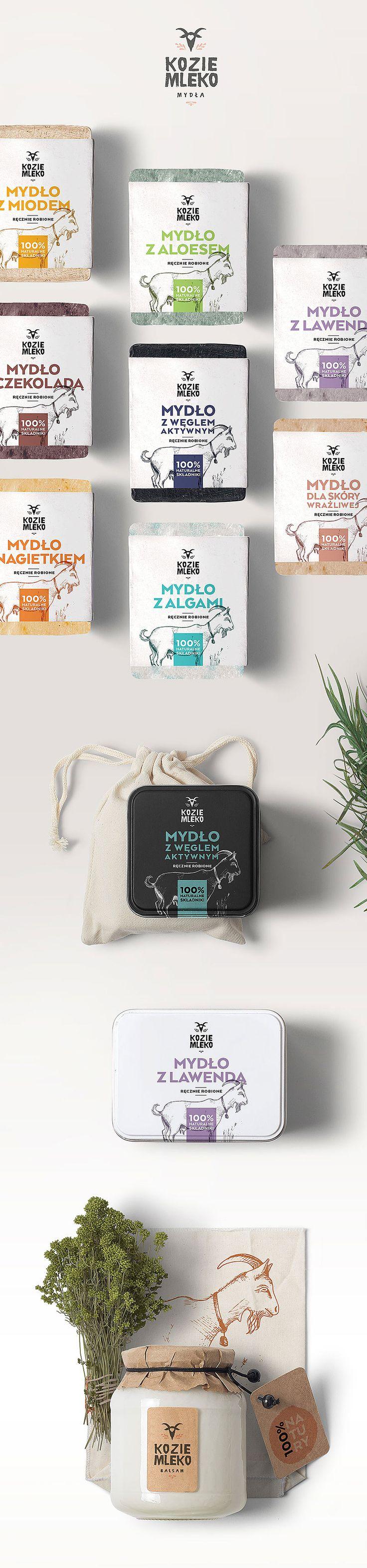 KOZIE MLEKO / GOAT MILK branding and packaging on Behance