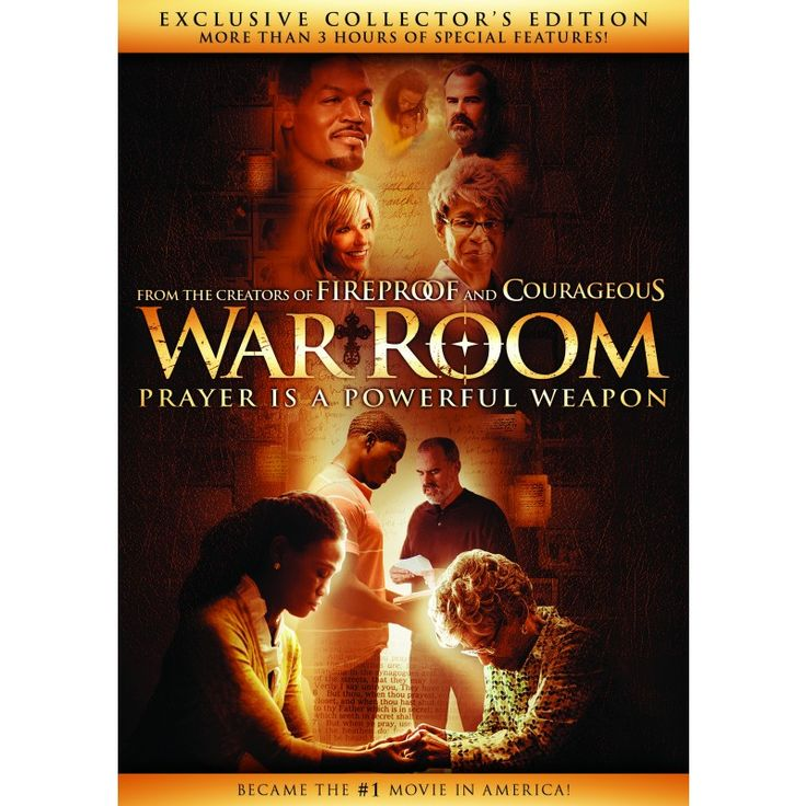 PRE-ORDER YOUR COPY NOW! What Fireproof did for your Marriage … War Room will do for your Prayer Life; watch the movie and change your prayer life!